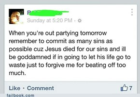 Party Hard for Jesus