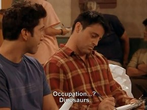 Hello, I Am Professional Dinosaurs