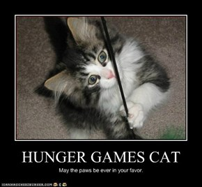 HUNGER GAMES CAT