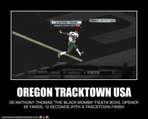OREGON TRACKTOWN USA