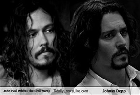 John Paul White (The Civil Wars) Totally Looks Like Johnny Depp