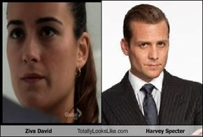 Ziva David Totally Looks Like Harvey Specter