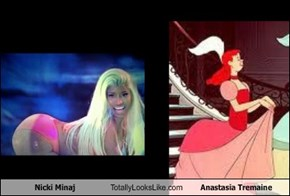 Nicki Minaj Totally Looks Like Anastasia Tremaine