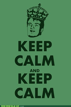 KEEP CALM AND KEEP CLAM