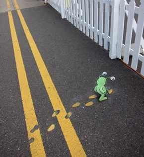 Why Did The Alien Cross the Road?