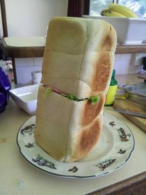 Behold the Breadwich!