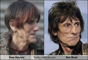 Rosa DeLauro Totally Looks Like Ron Wood