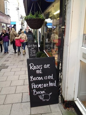 Butcher Sign WIN