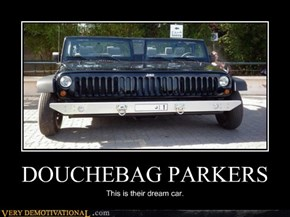 DOUCHEBAG PARKERS