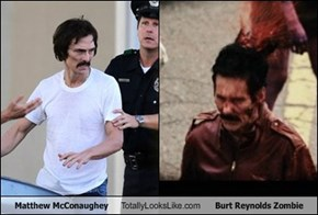 Matthew McConaughey Totally Looks Like Burt Reynolds Zombie