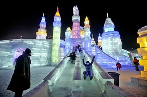 The Colorful Harbin Ice Festival