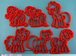 MLP Cookie Cutters