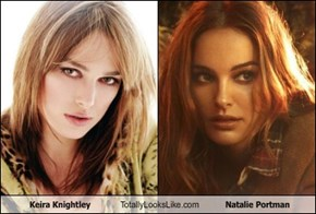 Keira Knightley Totally Looks Like Natalie Portman