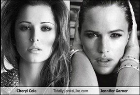 Cheryl Cole Totally Looks Like Jennifer Garner