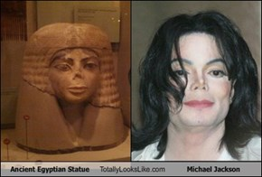 Ancient Egyptian Statue Totally Looks Like Michael Jackson