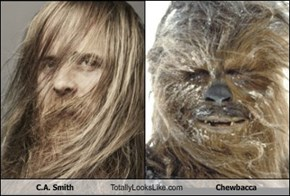 C.A. Smith Totally Looks Like Chewbacca