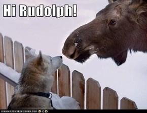 Hi Rudolph!