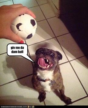 giv me da dam ball