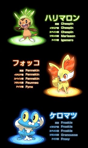 Which Pokemon Will You Choose?