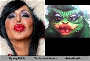 Big Ang Raiola Totally Looks Like Greta Gremlin