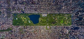 A New Perspective of the Day: Central Park, Manhattan