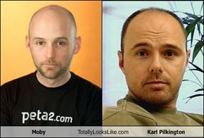 Moby Totally Looks Like Karl Pilkington
