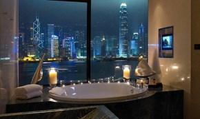 Your View From The Intercontinental Hong Kong Hotel