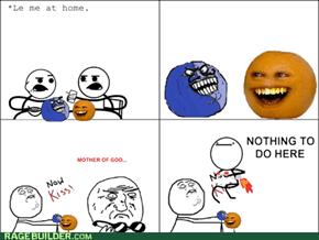 Orange rage!