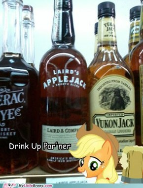 Applejack's Drink of Choice