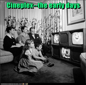 Cineplex--the early days