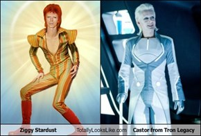 Ziggy Stardust Totally Looks Like Castor from Tron Legacy