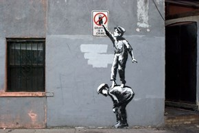Banksy is Back in New York
