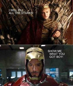 An Iron Man For the Iron Throne