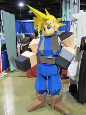 An Extremely Accurate Cloud From Final Fantasy VII