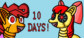 Ten days until Filler/ScootaBot RP'er's birthday!