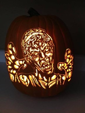 Not Sure If I Should Not Blink, or Just Smash This Pumpkin