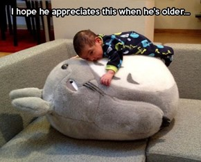 My Babysitter Totoro
