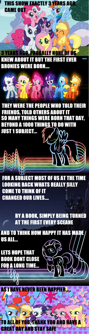 Three Years of Brony