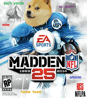 Doge NFL: 25th Anniversary