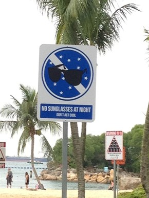 Coolness is Prohibited in Singapore