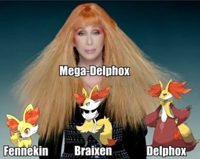 Confirmed: Mega-Delphox!
