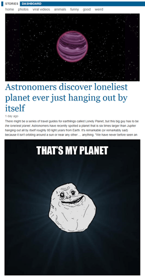 Forever a planet
