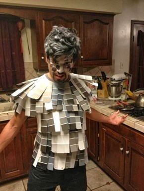 Jus a Sample of His 50 Shades of Grey Costume