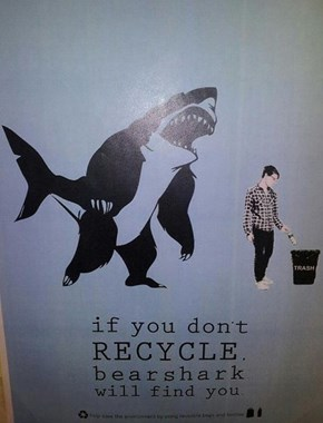 But Bearsharks Don't Exist, Right? Take a Chance and Find Out...
