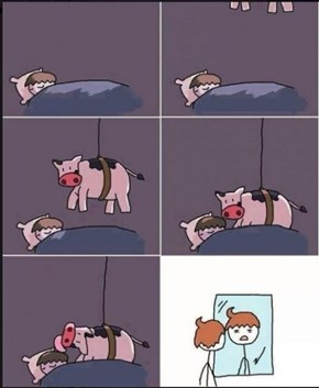 Bovine Hairstyles Require a Full Night's Rest