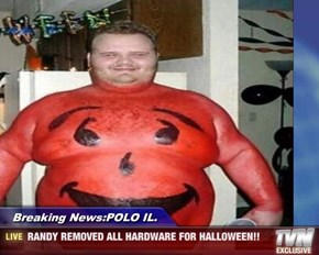 Breaking News:POLO IL. - RANDY REMOVED ALL HARDWARE FOR HALLOWEEN!!