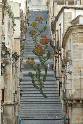 The Floral Footsteps of Santa Maria Del Monte