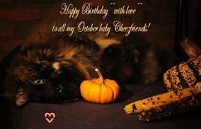 Happy October Birthdays from Alisaorrdaisy