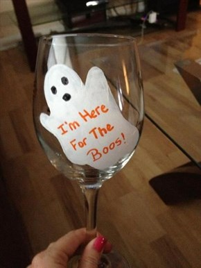 Soberingly Honesty Halloween Party Glasses