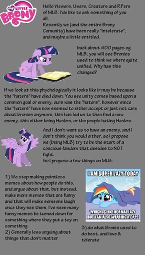 My Little Brony REVOLUTION